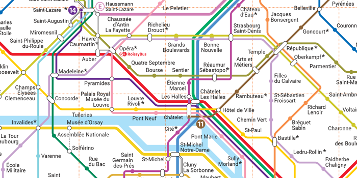 Paris Subway Map Interactive.Useful Links Animals On The Underground